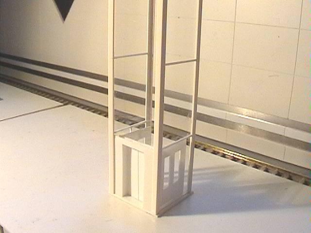 Mark 39 s modeltrambaan for Ingebouwd zwembad zelf maken
